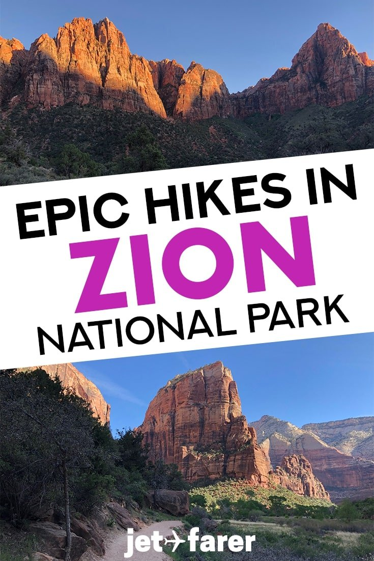 20351dabf820 Hiking in Zion National Park is arguably the best way to experience the  canyon s raw beauty and nature. While you can see a lot from the roads